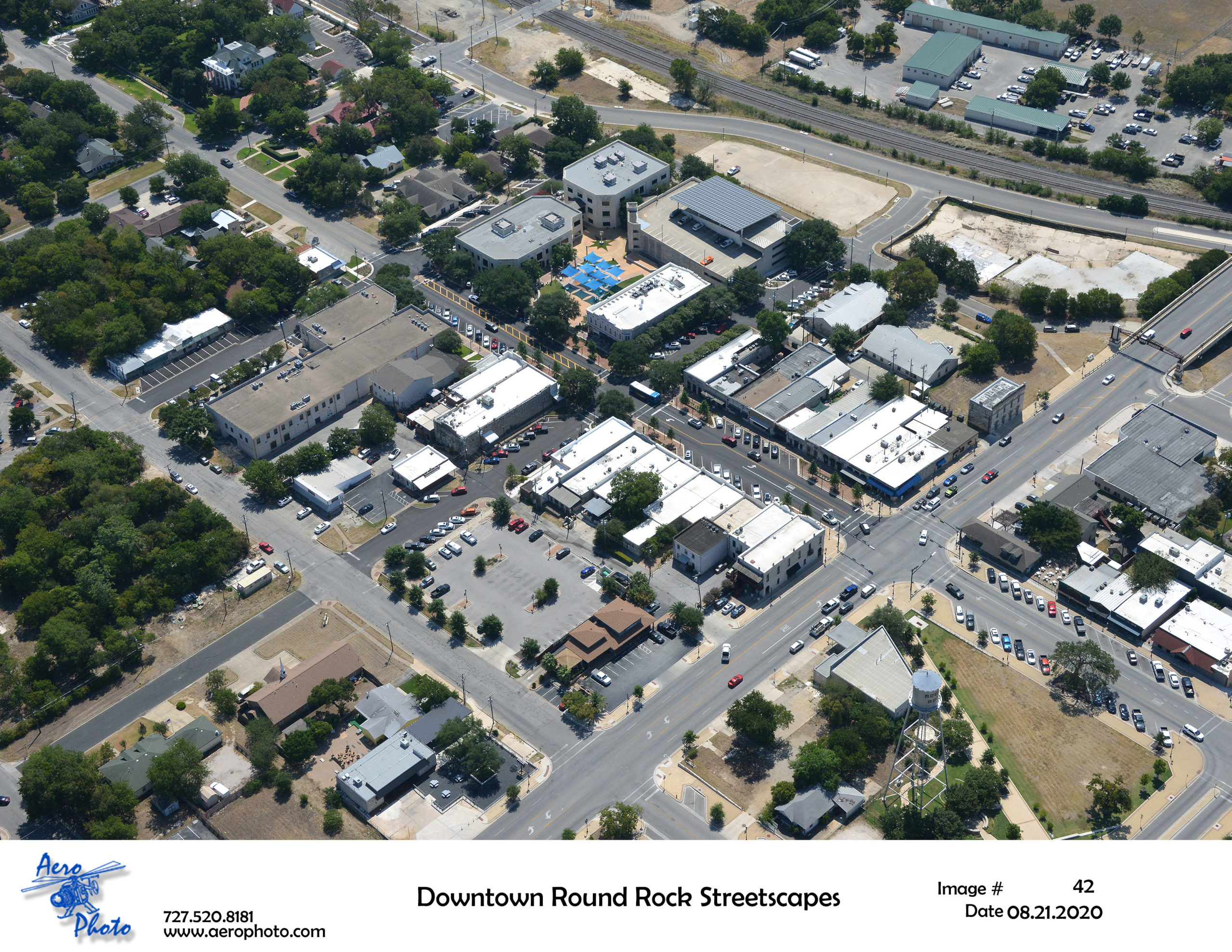 Downtown Round Rock Streetscapes 2008215042